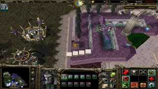 Warcraft 3 Reign of Chaos - Under the Burning Sky - Destroy All Human Bases - Hard