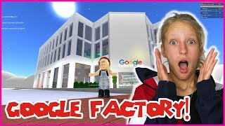 BUILDING A GOOGLE FACTORY!