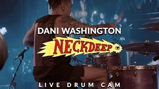 Dani Washington of Neck Deep (Happy Judgement Day - Drum Cam)