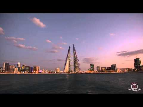 Time-lapse in Manama City, Kingdom of Bahrain
