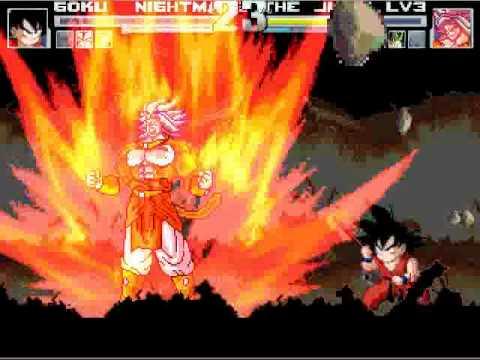 Gogeta Gohan Goku And Master Roshi Vs Cell Broli Ssj4 Vegito Ssj Freeza video