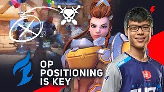 Proper Brigitte Positioning - Mickie's Key to Carrying Dallas Fuel in Overwatch League