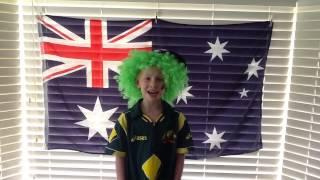 Aussie Aussie Aussie, FUN FUN FUN!!! by Adam Boyes