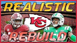 Madden 19 Realistic Rebuild | Kansas City Chiefs: Najee Harris is a STUD