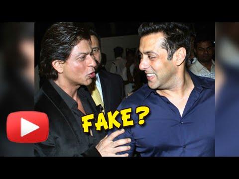 Shahrukh Khan - Salman Khan Friendship Fake?