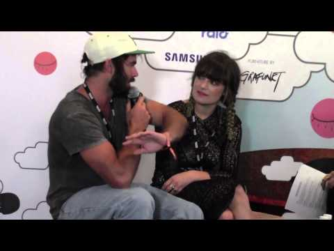 Angus and Julia Stone: Part One Interviews at Laneway Festival Singapore