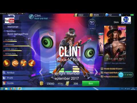 Review All Hero Skin Mobile Legend Starlight || MobileLegends.