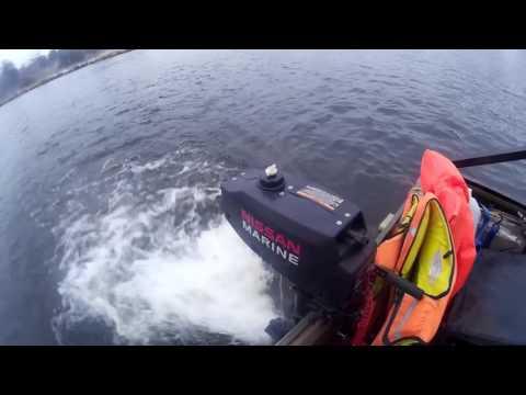 тест драйв лодки кайман
