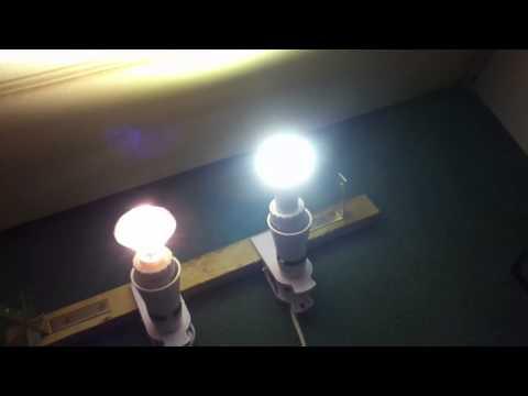 LED 9W Energy Saving GU10 Bulb has 60 SMD 3014 LEDs 100W Equivalent