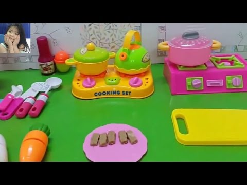 Toy Kitchen Velcro Fruits and Vegetables Cooking Soup Shrimp Food Toy