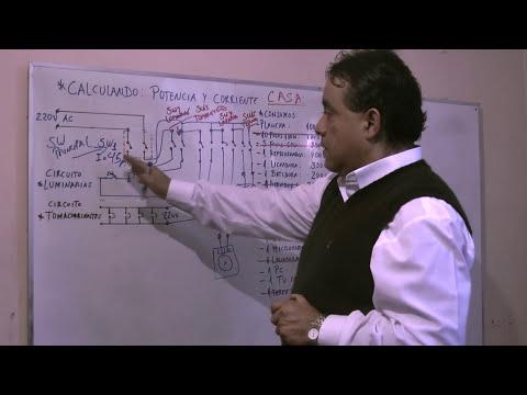 Calculo Total de Potencia y Corriente de una Casa - Parte 2