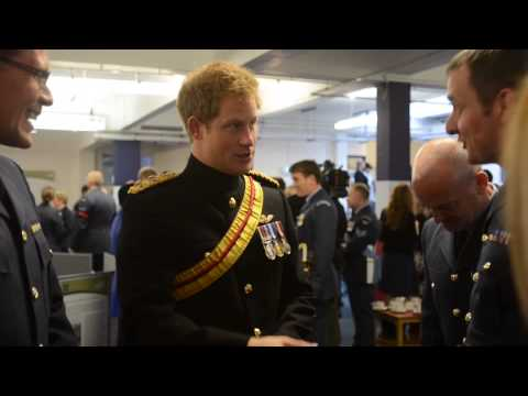 Prince Harry RAF Honington