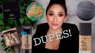 10 DRUGSTORE DUPES FOR LUXURY MAKEUP! YOU NEED THESE!