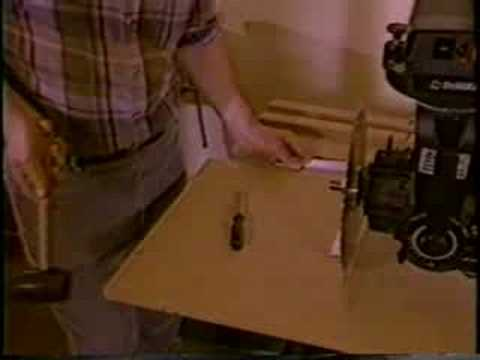 RADIAL ARM SAW SETUP