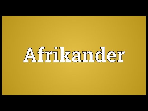 Header of Afrikander