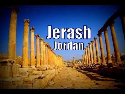 Visiting Jerash, Jordan Travel Video (Gerasa of Antiquity - Γέρασα - محافظة جرش)