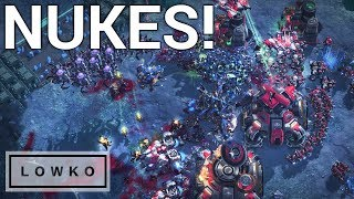StarCraft 2: Intense Multi-Tasking - Korean Zerg vs Terran!