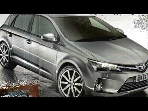 LEAKED 2013 New Toyota Auris Corolla