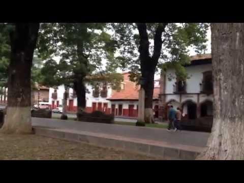 Plaza Vasco de Quiroga en Pátzcuaro