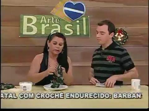 ARTE BRASIL - CARMEM FREIRE - GUIRLANDA DE NATAL EM CROCHÊ (13/10/2011)