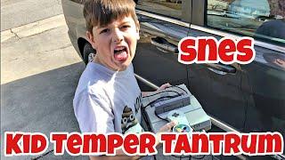 Kid Temper Tantrum Steals Uncle Jay's Super Nintendo Entertainment System *Skit*