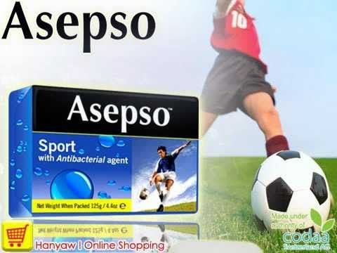Online Shopping & Export for Asepso Deodorizing Soap (Sport) | Hanyaw ! Online Shopping