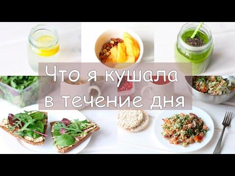 Дневник питания | Что я ем в течение дня? | What I eat in a day?
