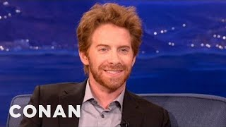 Download Song Seth Green & Dax Shepard Have A Love Child - CONAN on TBS Free StafaMp3