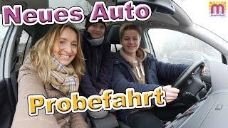 Unser neues Auto Probefahrt mit der ganzen Familie Vlog #57 marieland