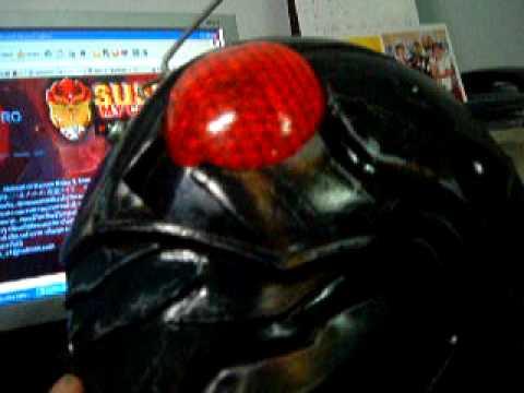 Tutorial Helmet Kamen Rider Kamen Rider The Next-helmet