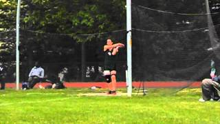 FSL championships Laura 1/2 spin discus