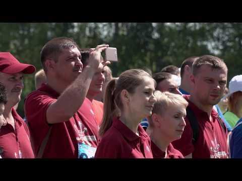 Игры «Спорт поколений-2018» в Рыбном: жаркие, профсоюзные, наши!