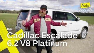 Cadillac Escalade 6.2 V8 Platinum: Was für ein Riesending!