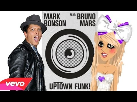 Uptown Funk - Mark Ronson ft. Bruno Mars (Lyrics & Music Video) - Moviestarplanet