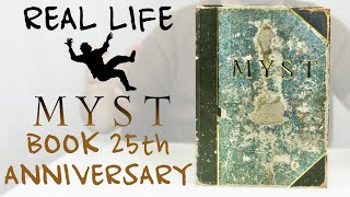 Real Life MYST Linking Book In Depth Review (25th Anniversary Reward) (4K)
