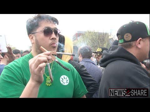Marijuana Activists Smoke at White House, Two Detained