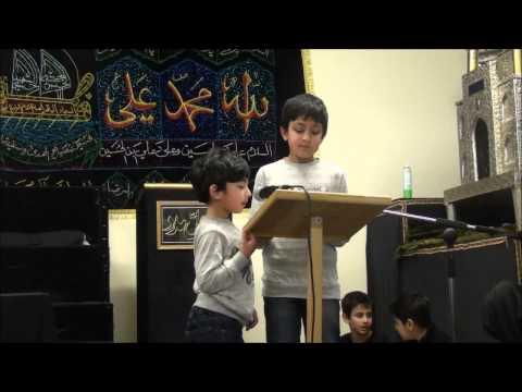 Kids Majalis 2013 Burnley Hussainia Imambargah Part 1 video