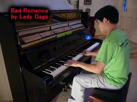 Lady Gaga - Bad Romance (Piano Cover) Music Video