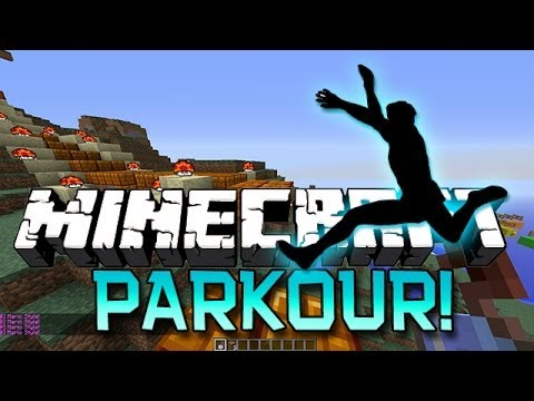 Minecraft: Epic Parkour Racing w Mitch Ashley Bodil and Simon