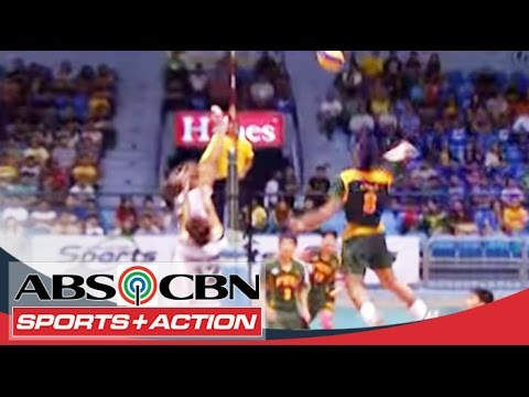 Uaap Season 76 Back-to-back Women's men's Volleyball video