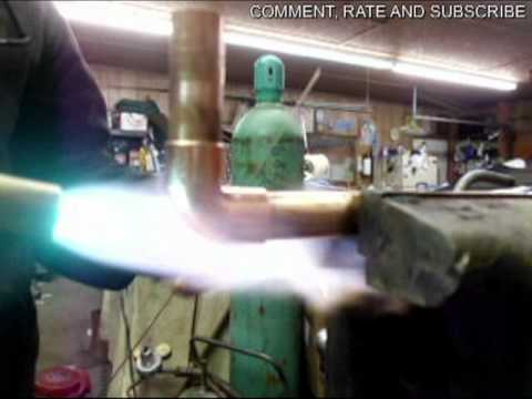 How To Braze Copper Pipe