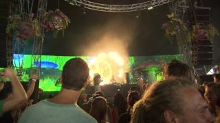 Cari Lekebusch (2) at Tomorrowland 2012