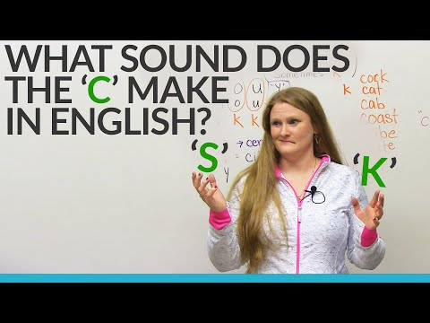 Learn English: Does The C Sound Like S Or K? video