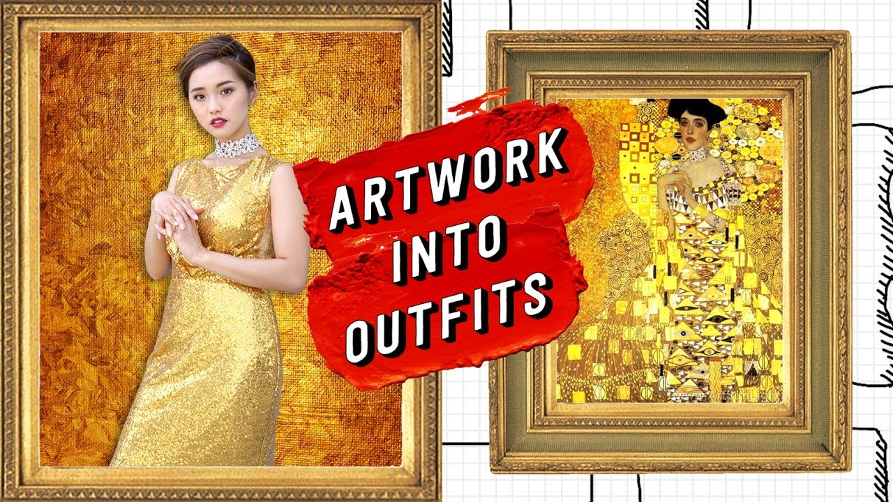 Recreating Artwork into Outfits | I MADE ART PIECES INTO OUTFITS