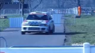 Restored Mitsubishi EVO 3 in action