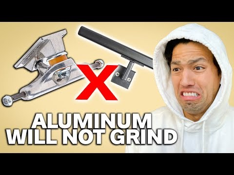 WHY ALUMINUM WILL NOT GRIND!