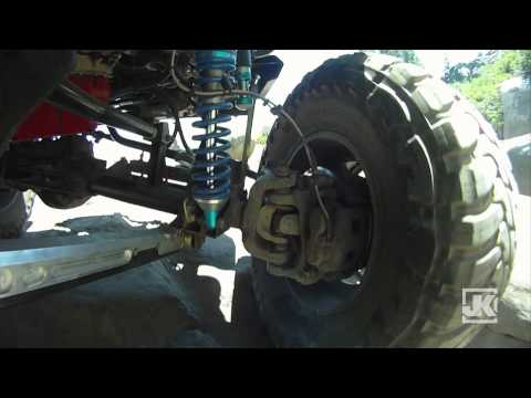 Project-JK GoPro HD Off Road Evolution Jeep JK Wrangler EVO Suspension System in Action