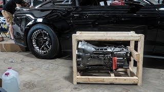 My Stage 3 Billet Transmission arrived for my Mustang!
