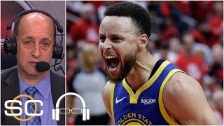 Jeff Van Gundy praises Warriors' toughness in 'improbable' win over Rockets | SC with SVP