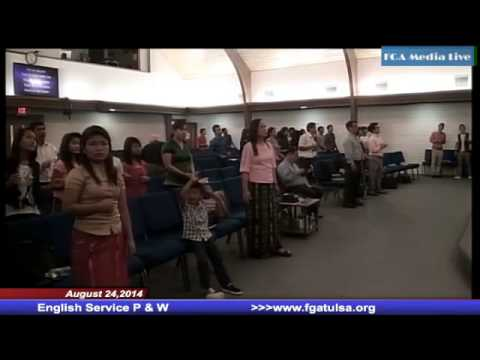August 24,2014 English Service Praise and Worship